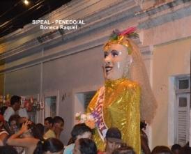 Boneca Gigante - Raquel - Penedo-AL (Brasil).