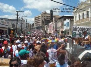 Desfile do Ovo da Madrugada - Ano 2013 - Penedo-AL (Brasil)