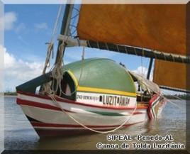 Canoa de Tolda Luzitânia - Brejo Grande-SE - 2010