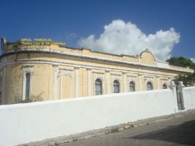 Theatro Casa de São Francisco - R. Nilo Peçanha s/nº - Penedo-AL (Brasil)