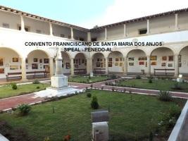 Convento Francisco de Sta Mª dos Anjos - Claustro - Penedo-AL.