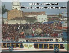 Festa B. Jesus dos Navegantes - Embarque da Imagem - Penedo-AL