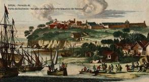 Vista do Forte Maurício de Nassau - Porto da Rocheira Penedo-AL