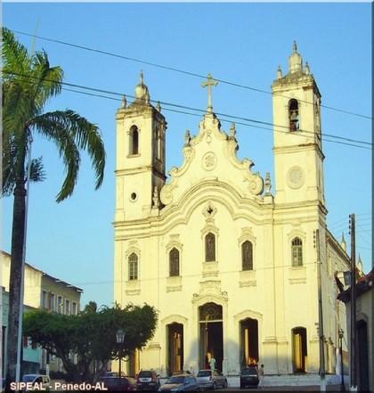 Igreja Catedral de N. Srª do Rosário (Matriz) - Pça. Barão do Penedo, nº 1, - Penedo-AL