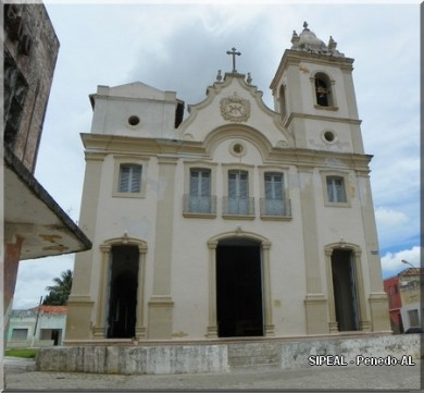 Igreja de N. Srª do Rosário dos Pretos - Pça Mal Deodoro - Penedo-AL