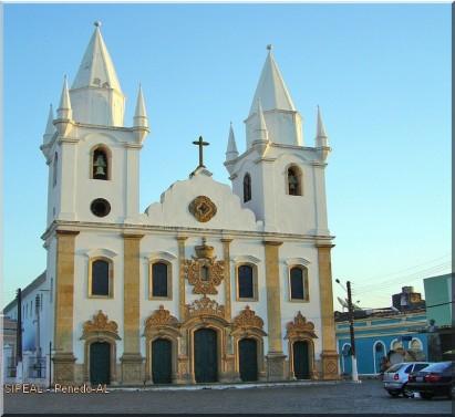 Igreja de S. Gonçalo Garcia dos Homens Pardos - Av. Floriano Peixoto - Penedo-AL