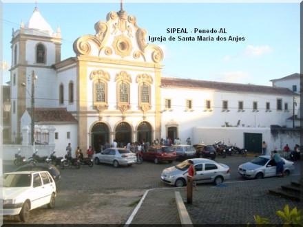Igreja de Stª Mª dos Anjos - R. 7 de Setembro, 218 - Penedo-AL
