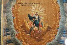 Igreja de Sta Mª dos Anjos - Pintura Ilusionista - Penedo-AL..