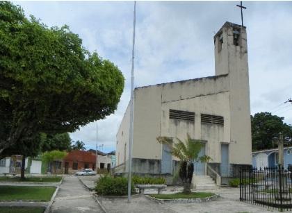 Igreja do Sr Bom Jesus dos Pobres - Pça Dr. Clementino do Monte - Bairro Cajueiro Grande - Penedo-AL (Brasil).