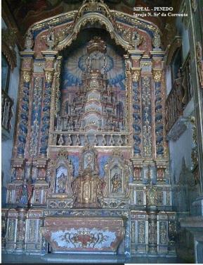 Igreja N. Srª. da Corrente - Vista Interna - Penedo-AL