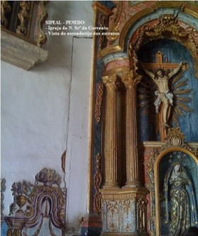 Igreja N. Srª da Corrente [1764] - Altar-Mór - Pça 12 de Abril - Penedo-AL.