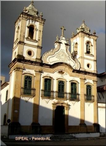 Igreja de N. Srª da Corrente - Pça 12 de Abril - Penedo-AL