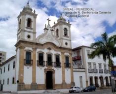 Igreja N Srª da Corrente - Pça 12 de Abril - Penedo-AL (Brasil).