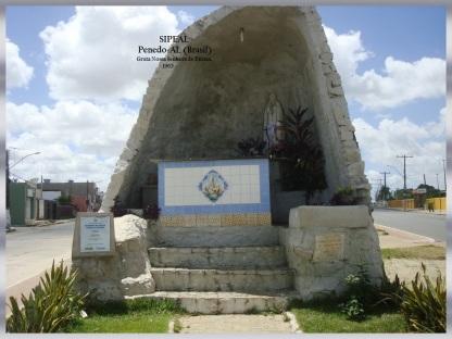 Monumento (f 455) Gruta N Srª de Fátima - Penedo-AL