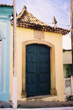 Oratório dos Condenados - Pça Barão de Penedo, s/nº - Penedo-AL (Brasil).