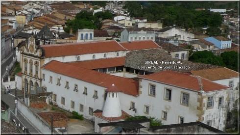 Convento Franciscano de Santa Maria dos Anjos - R. 7 de Setembro 218 - Penedo-AL.