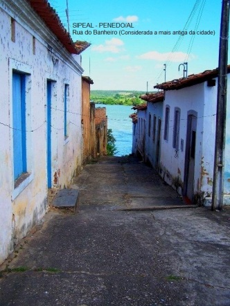Rua (Beco) do Banheiro - Mirante da Rocheira - Penedo/AL (Brasil)