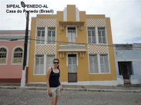 Casa do Penedo - Pça Marechal Deodoro 92 - Penedo-AL (Brasil)