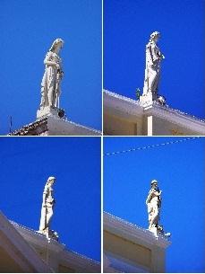 Theatro 7 de Setembro [1865 a 1884] - Destaque: As 4 Deusas - Penedo-AL