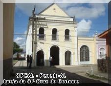 Igreja da Stª Cruz do Cortume - R. Dr. Joaquim Nabuco - Penedo-AL