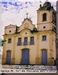 Igreja de N. Srª do Rosário dos Pretos - Penedo-AL