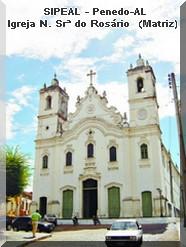 Igreja N. Srª do Rosário - Penedo-AL (Catedral Diocesana)