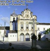 Igreja Conventual Stª. Mª dos Anjos - Penedo-AL