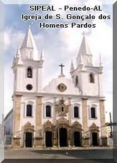 Igreja de S. Gonçalo Garcia dos Homens Pardos - Penedo-AL.