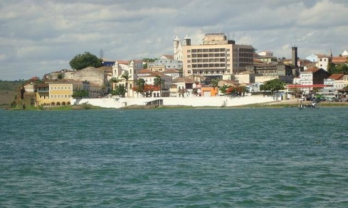 Vista da Cidade de Penedo-AL