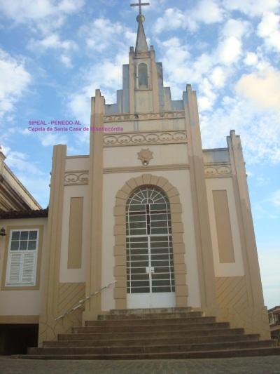 Capela da Stª Casa de Misericórdia - Cajueiro Grande - Penedo-AL (Brasil)