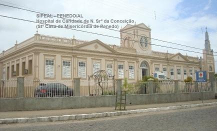 Hospital de Caridade de N. Srª da Conceição - Stª Casa de Misericórdia de Penedo (Brasil).