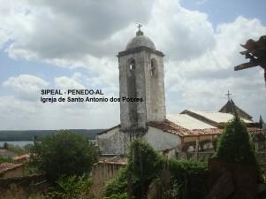 Igreja de Stº Antônio dos Pobres - Construção 1906 - Penedo-AL