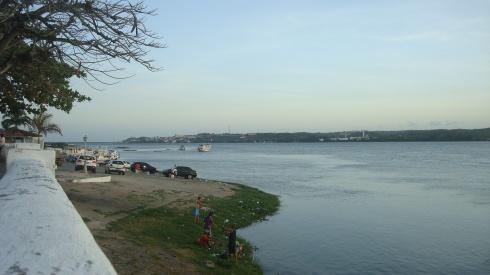 Orla-Fluvial acesso ao Cais do Porto - Penedo-AL