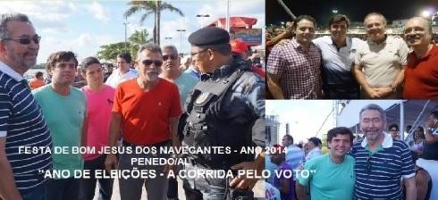Festa de B. Jesus dos Navegantes - Ano 2014 - Penedo/AL