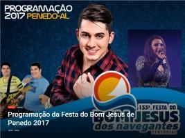 Programação Profana - 133ª Edição/Bom Jesus dos Navegantes/2017 - Penedo/AL (Brasil)