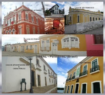 Museus & Theatros - Penedo/AL (Brasil).