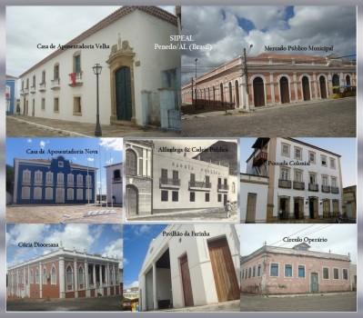Pontos Históricos (f 32) (Monumentos) Penedo-AL