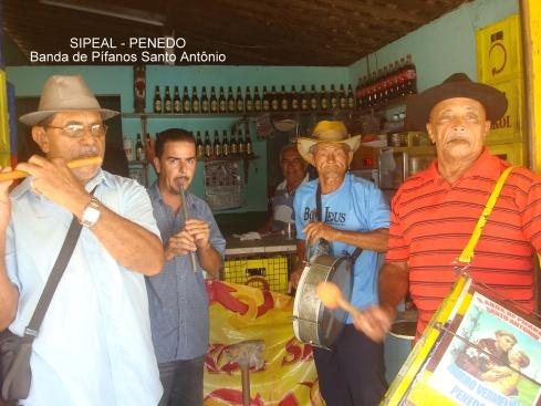 Banda de Pífanos - Santo Antonio - Penedo/AL (Brasil).