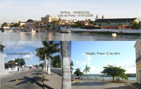 Cais do Porto - Penedo/AL (Brasil).