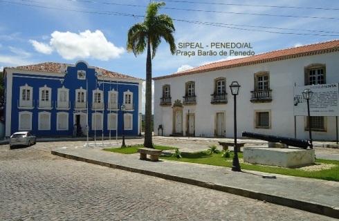 Praça Barão de Penedo - Penedo-AL (Brasil).