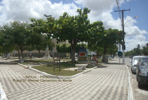 Pça Dr Clementino do Monte - Penedo-AL (Brasil).