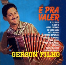 LP Gerson Filho - É prá Valer - RCA