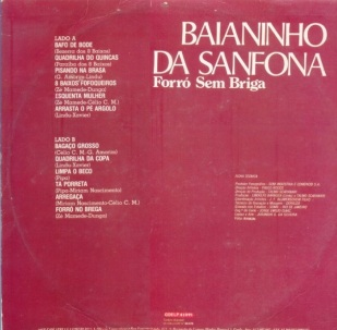 LP - Baianinho da Sanfona Vol. 2 - Copacabana