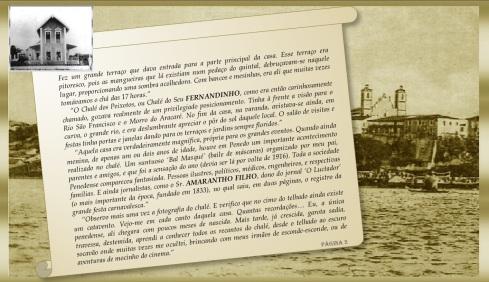 Carta Srª Zurica G. Peixoto - Chalé dos Peixotos