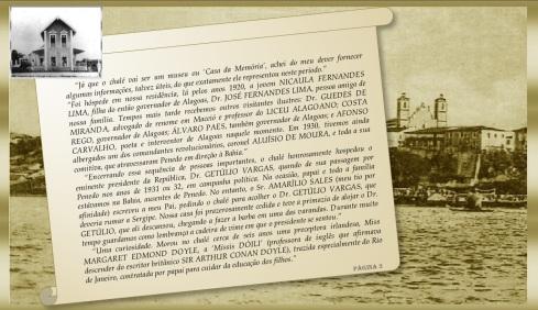 Carta Srª Zurica G. Peixoto - Chalé dos Peixotos (Brasil)