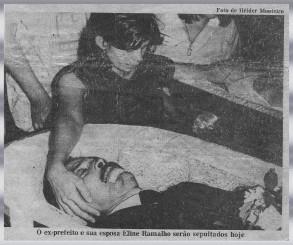 Morte do Ex-Prefeito Dr Raimundo Marinho e esposa - Penedo-AL