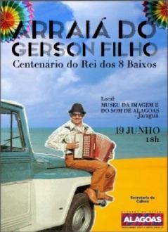 Centenário de Gerson Filho -  no MISA - Maceió-AL (Brasil).