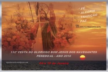 Igreja da Stª Cruz do Cortume - Imagem Bom Jesus dos Navegantes - Penedo/AL (Brasil).
