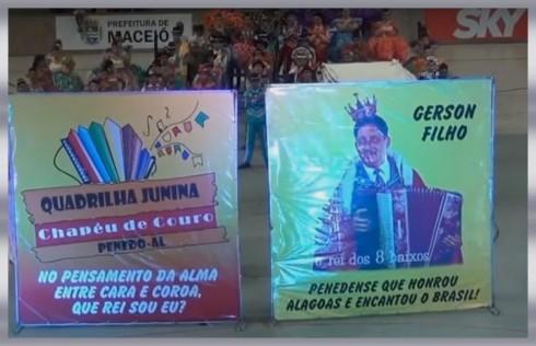 Quadrilha Junina (f-0070) - Chapéu de Couro - 2016.
