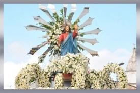 Imagem do Sr. Bom Jesus dos Navegantes - Penedo/AL (Brasil).